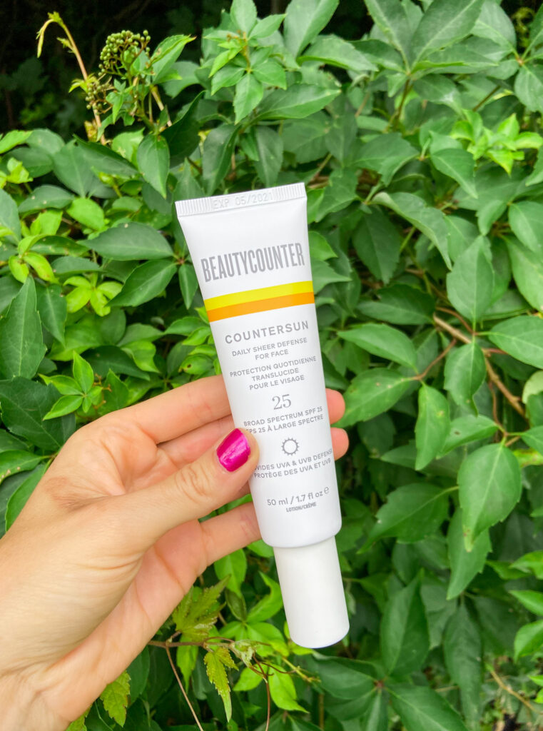 clean mineral sunscreen