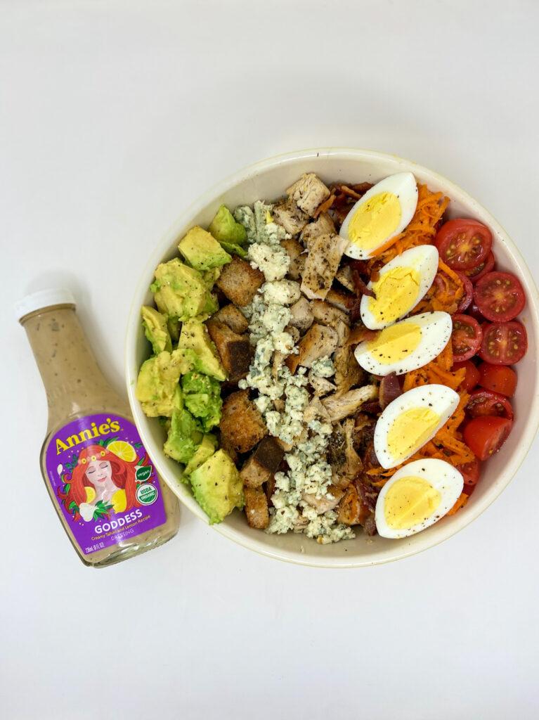Kale Chicken Cobb Salad - Annie's Dressing