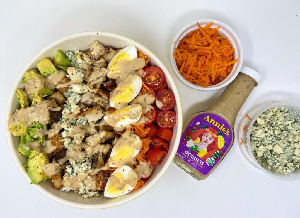 Kale Chicken Cobb Salad