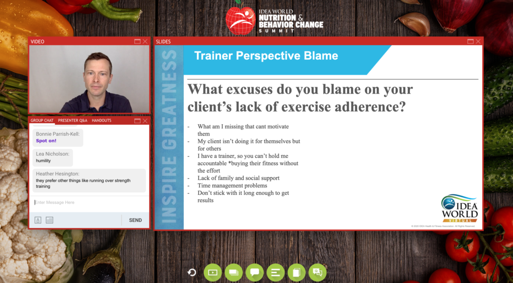 BLAME coaching slide