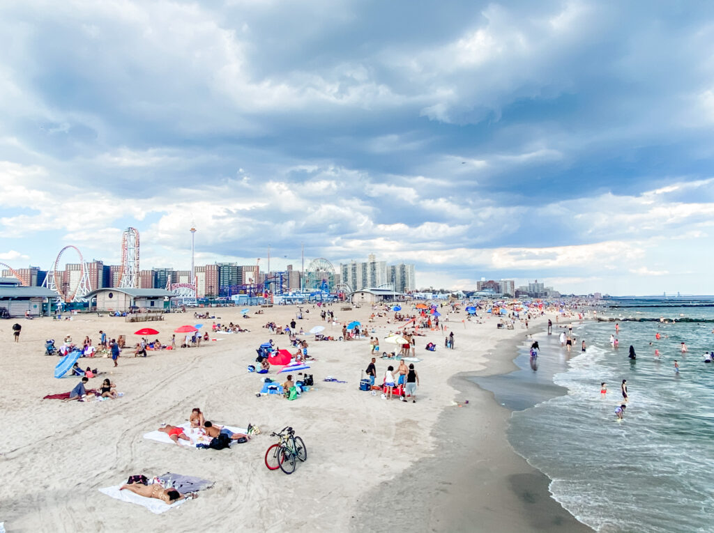 coney island beach summer 2020