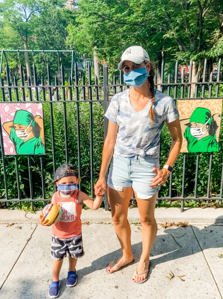 life in new york city during covid pandemic - mom in brooklyn's perspective