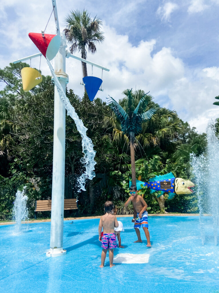 central florida zoo splash pad