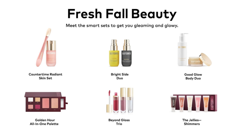 Fresh Fall Beauty - Beautycounter Holiday 2020