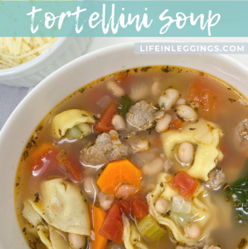 Hearty, Easy Tortellini Soup