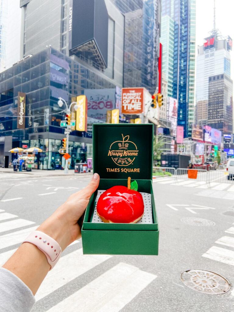 big apple doughnut krispy kreme