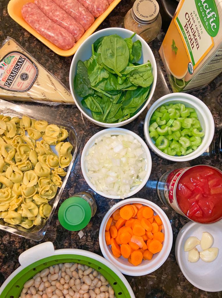 easy italian sausage tortellini ingredients