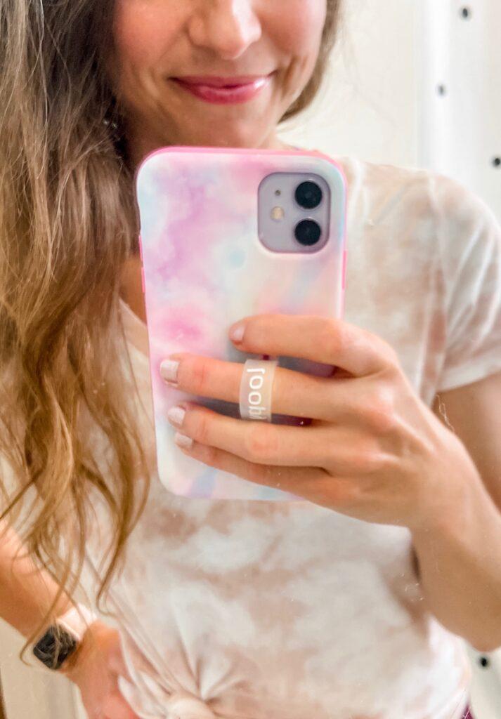 loopy iphone case tie dye