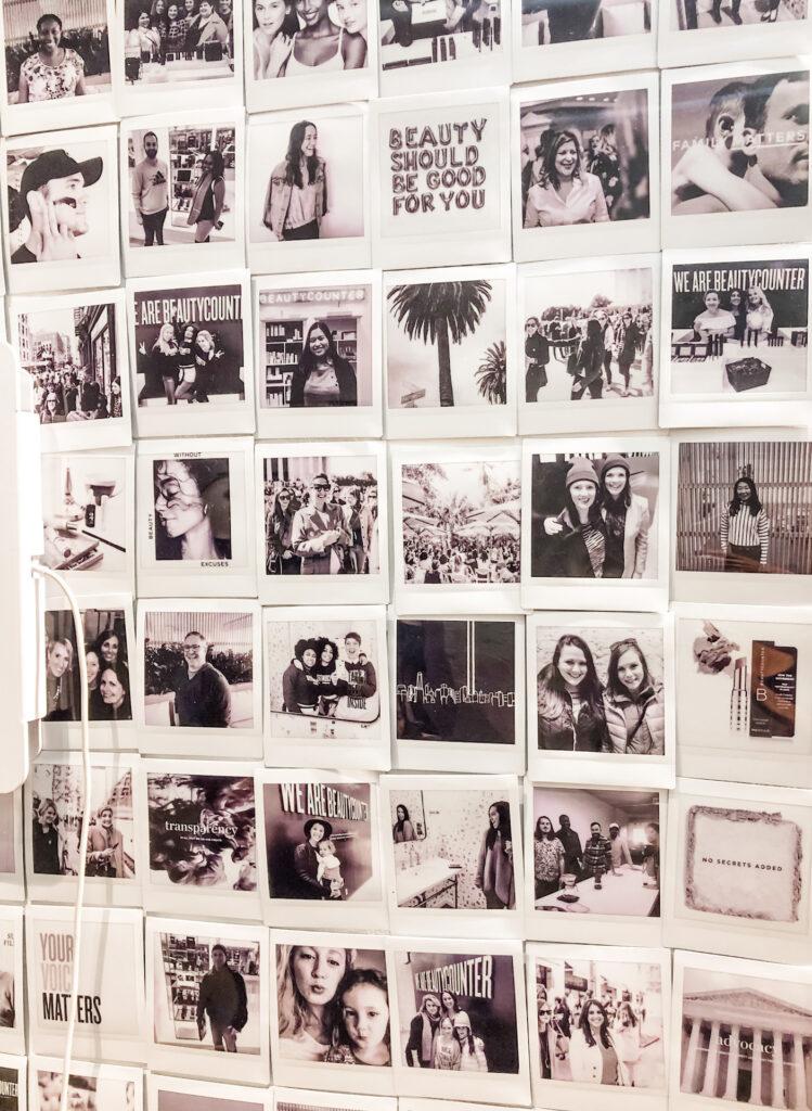Beautycounter Store Advocacy Wall