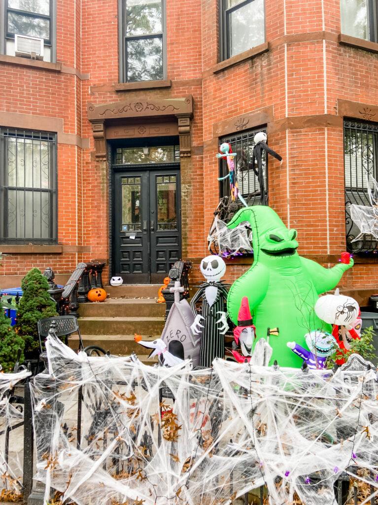 Halloween Decorations Park Slope