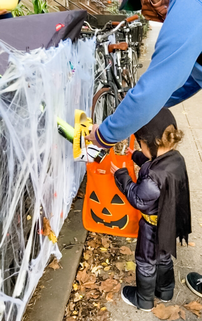 Park Slope trick or treating