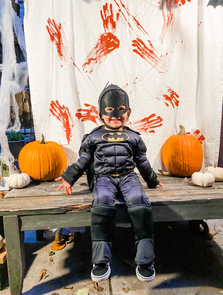 Skyler Batman Halloween 2020