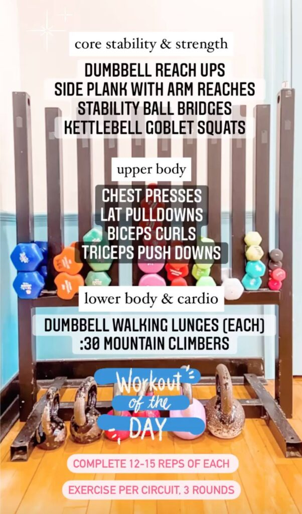 Strength & Stability Workout