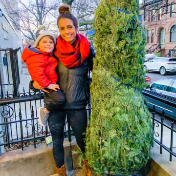Heather and Skyler christmas tree 2020