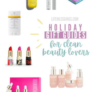 Holiday Gift Guide For Clean Beauty Lovers