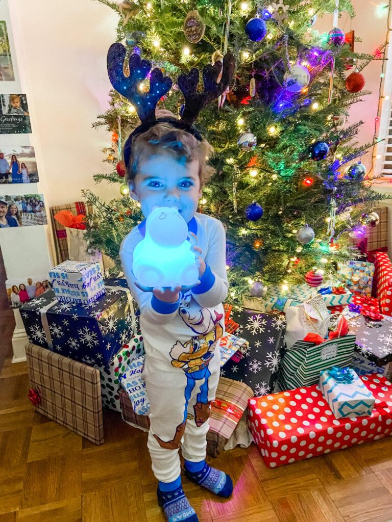 Skyler hippo christmas gift
