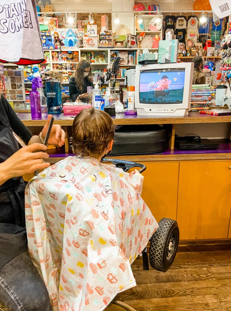Skyler's First Haircut Lulu's
