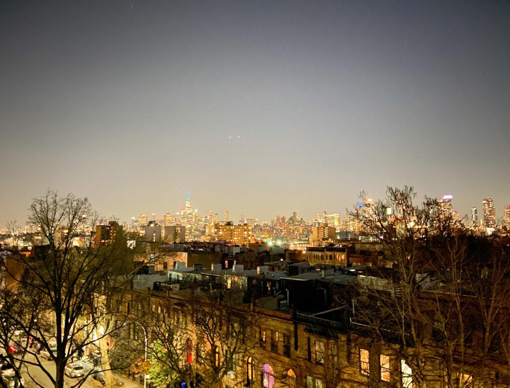 NYC rooftop views