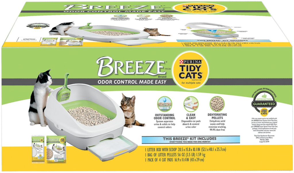 Purina Tidy Cats Pellets and Pads Litter Box System