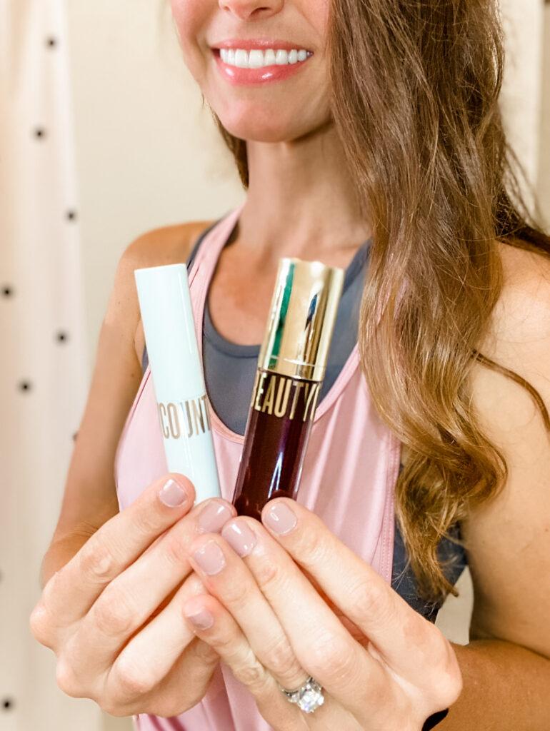 beautycounter lip gloss and lip stick
