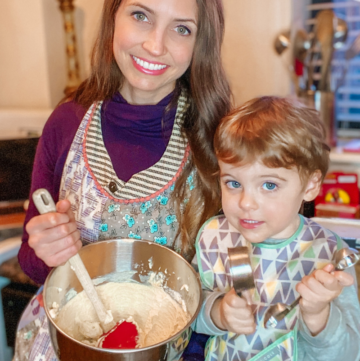 Tips On Cooking With Kids - Toddler Edition
