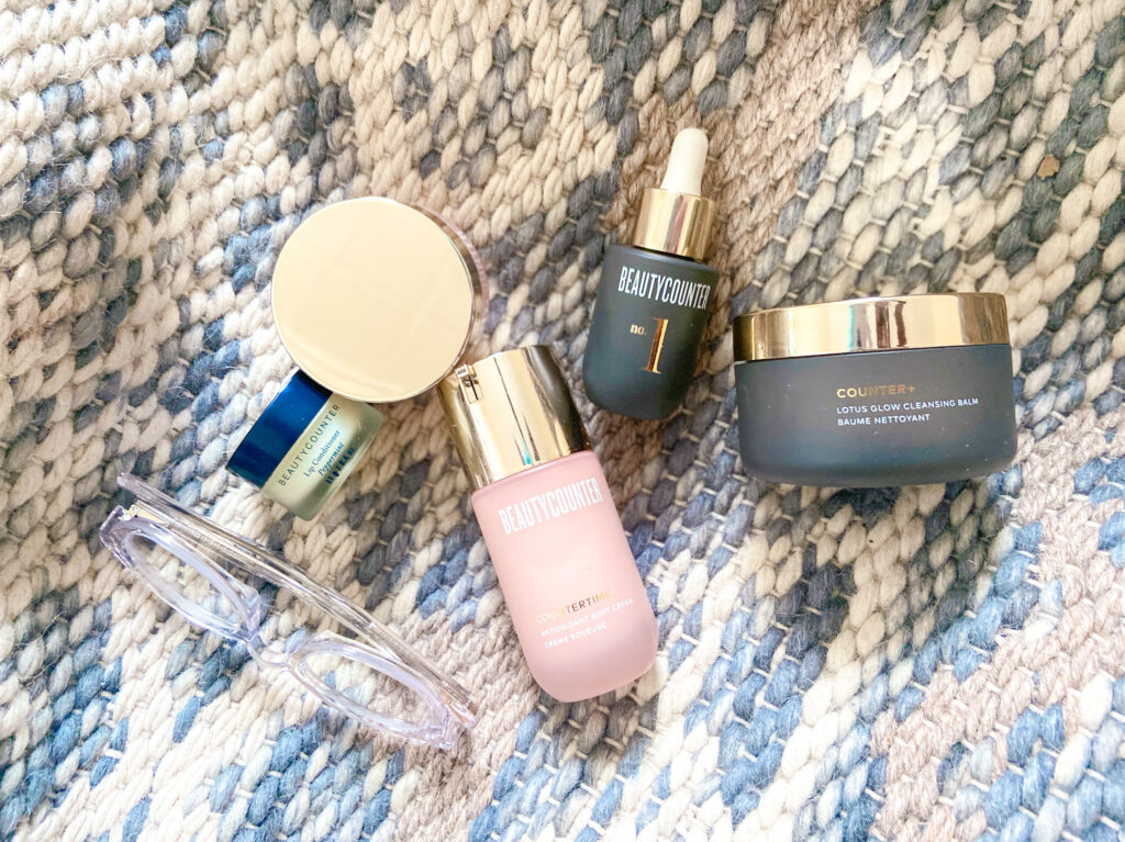 clean products for dry winter skin
