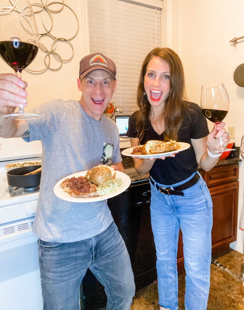 online cooking class date night