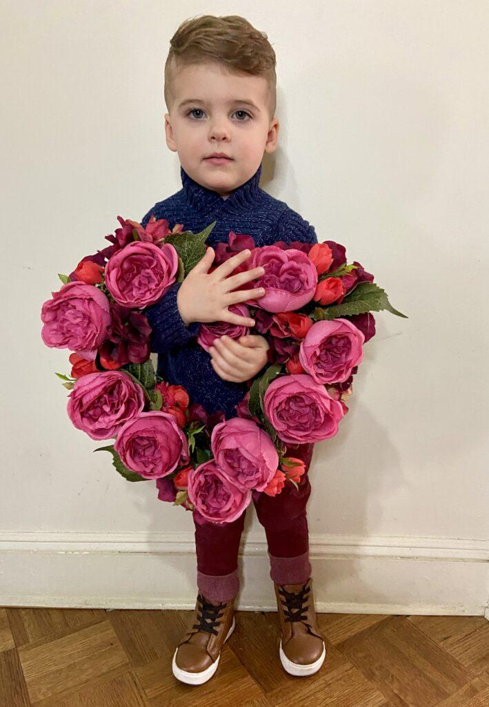skyler almost 3 valentines day