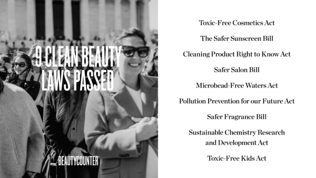 Beautycounter Advocacy