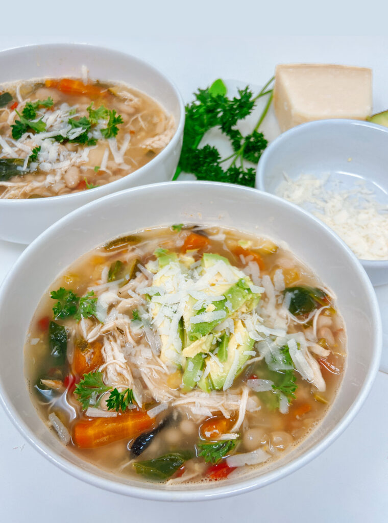 Chicken Bean Vegetable Soup