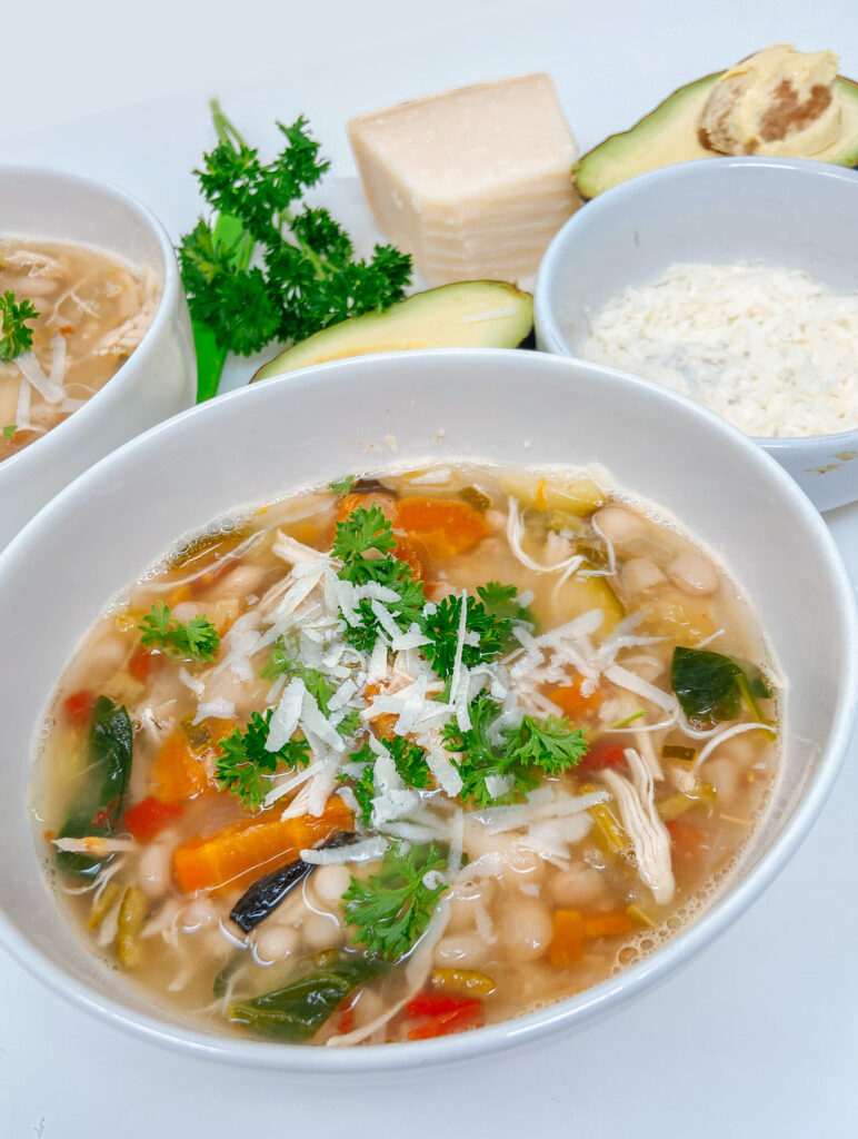 Chicken, Bean and Vegetable Soup