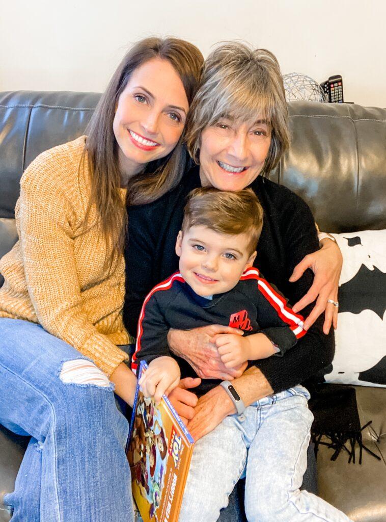 Grandma visits Skyler in New York 2021