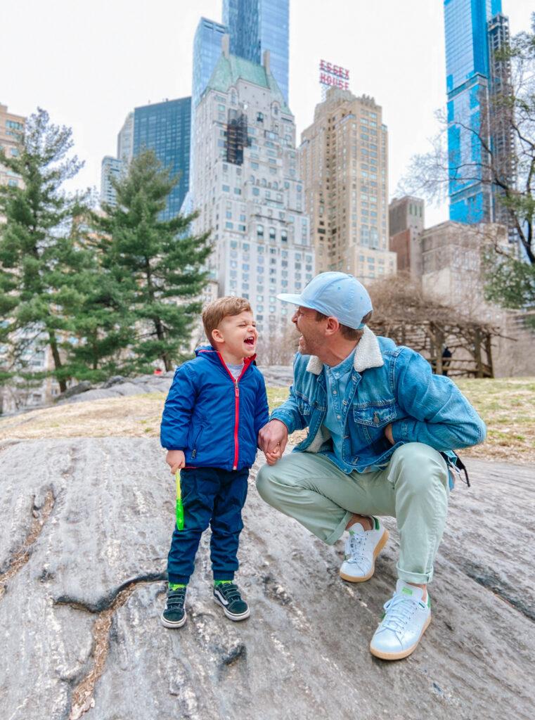 Scott and Skyler Central Park 2021