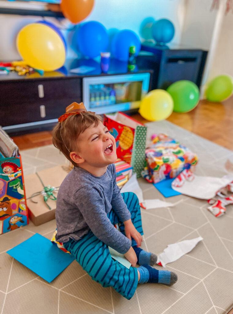 Skyler Three Years Old