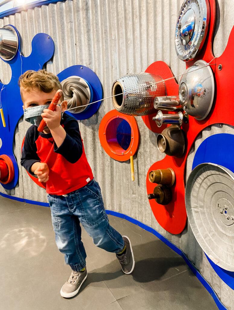 Skyler at Brooklyn Children's Museum