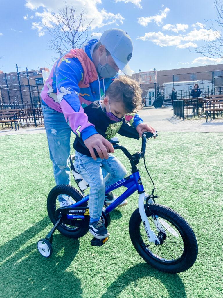 Skyler's big boy bike