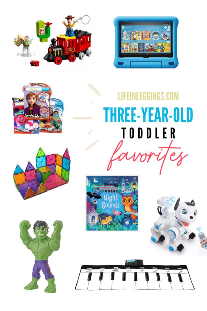 Three Year Old Toddler Favorites