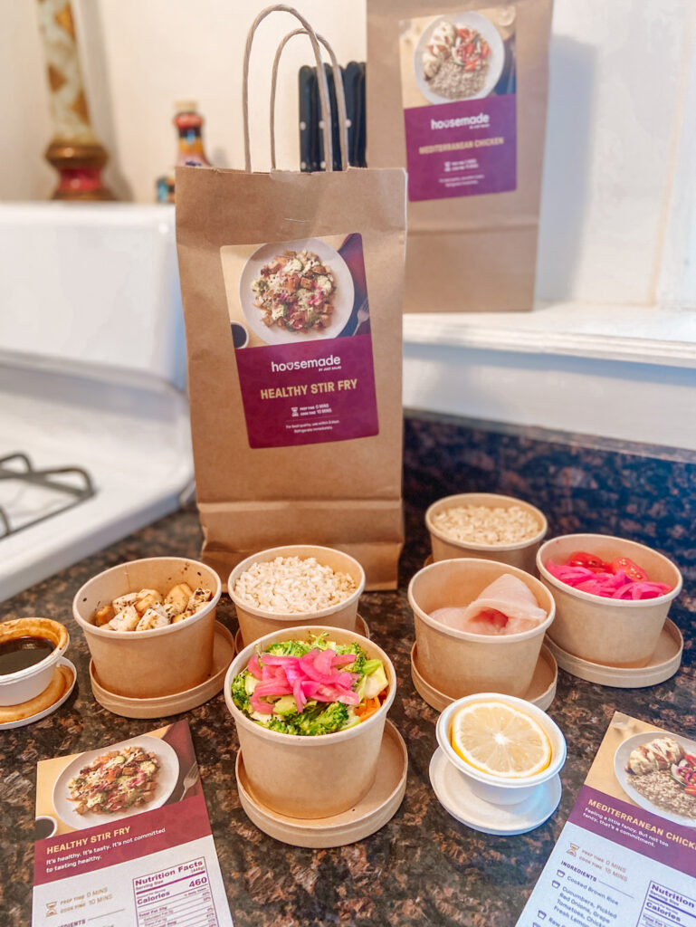 healthy meal kit delivery