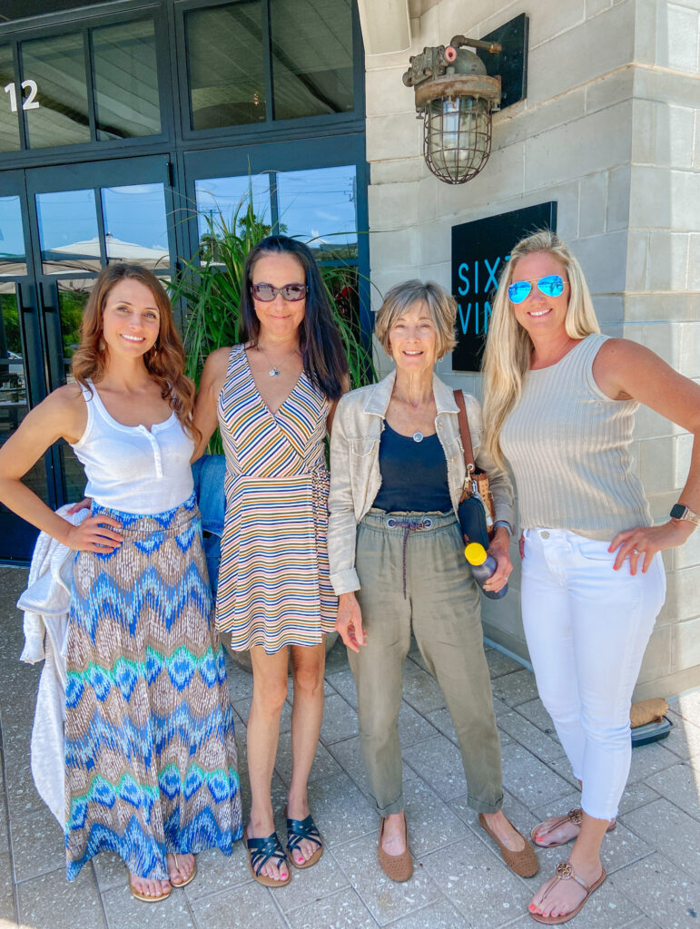brunch with family sixty vines