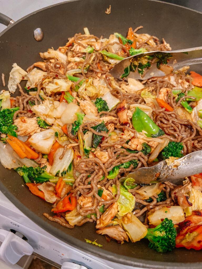 trader joe's veggie soba noodles kit