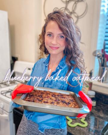 blueberry baked oatmeal recipe