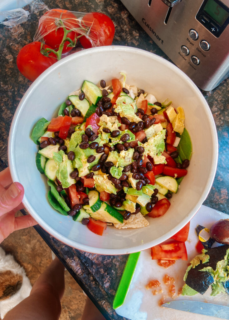 quick and healthy party side