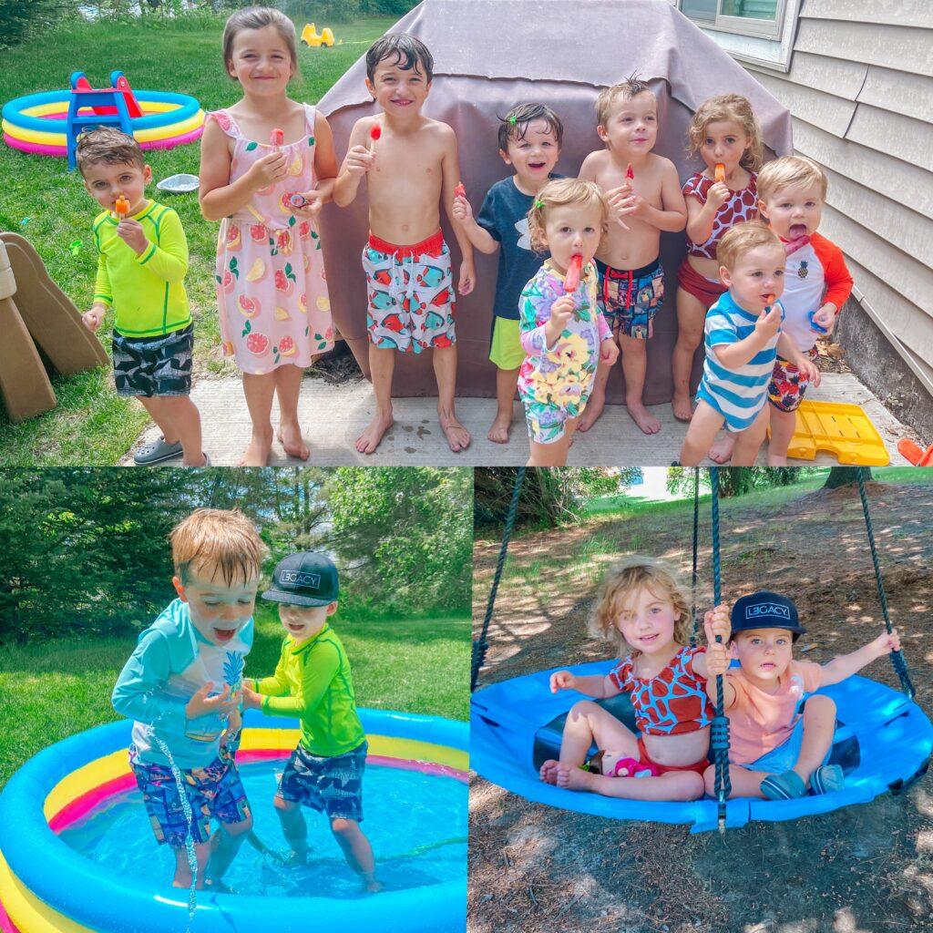 backyard play date
