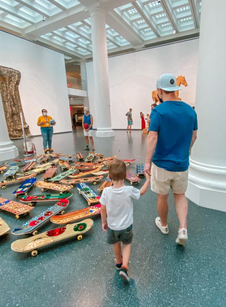 Brooklyn Museum Scott and Skyler