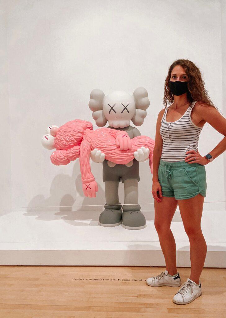 brooklyn museum - KAWS x Dior