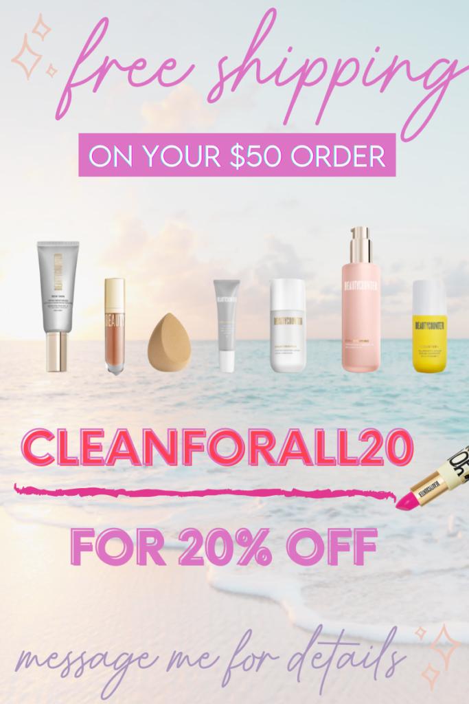 free shipping promo beautycounter