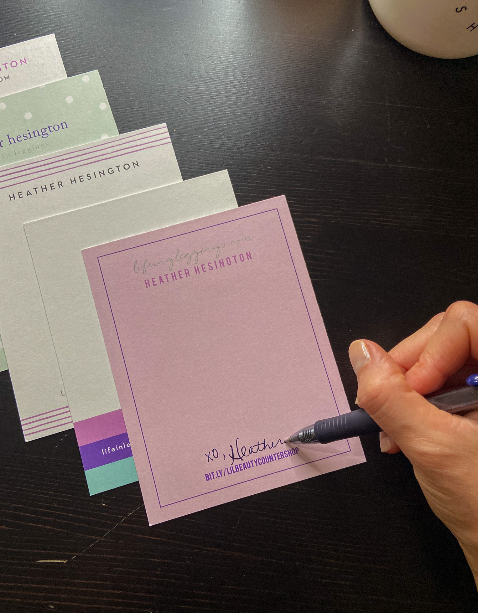 basic invite stationary