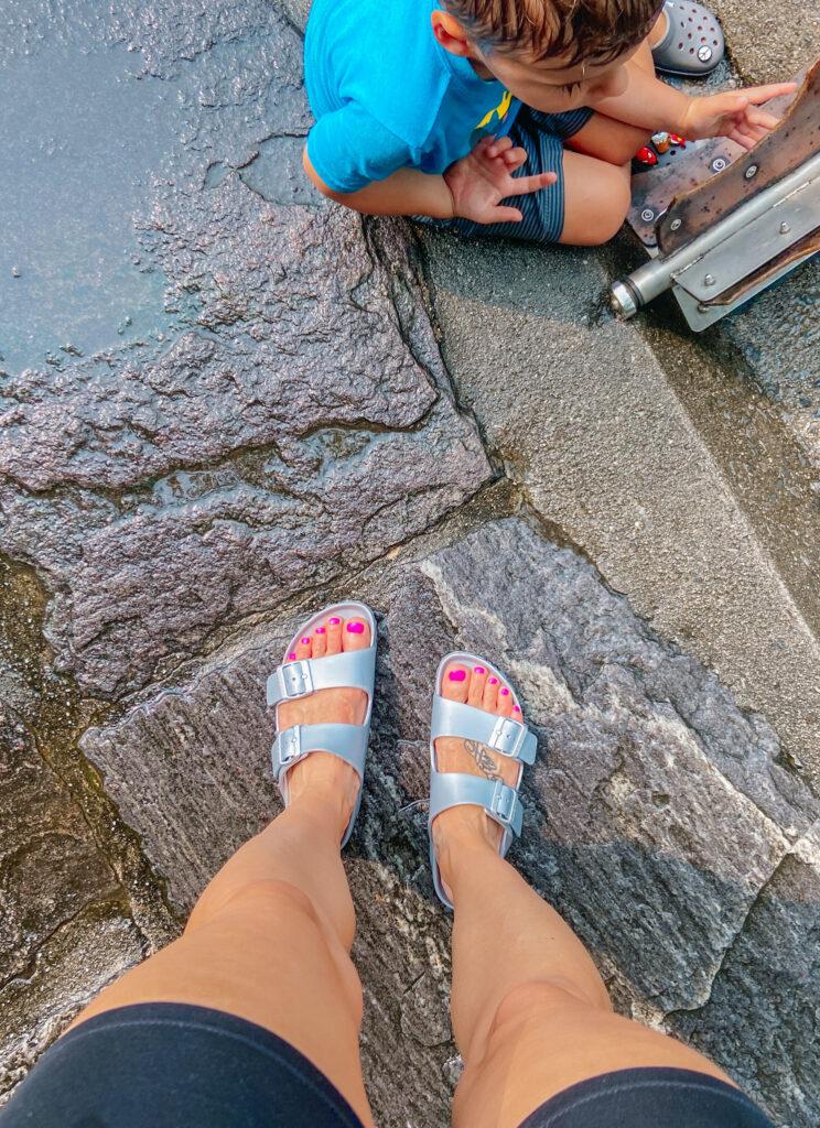 waterproof birkenstock sandal