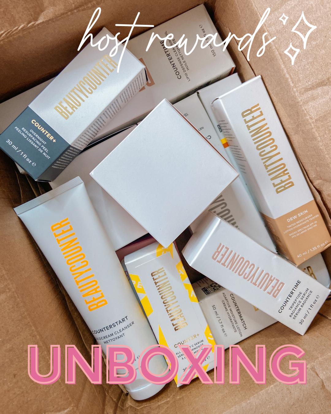 Host Rewards Haul August 2021 unboxing