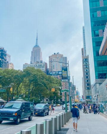 NYC midtown bryant park